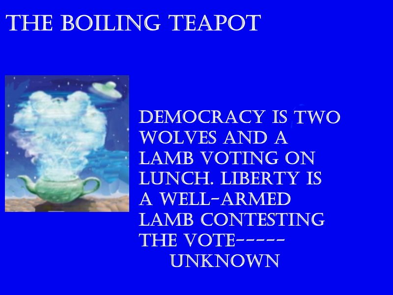 The Boiling TeaPot
